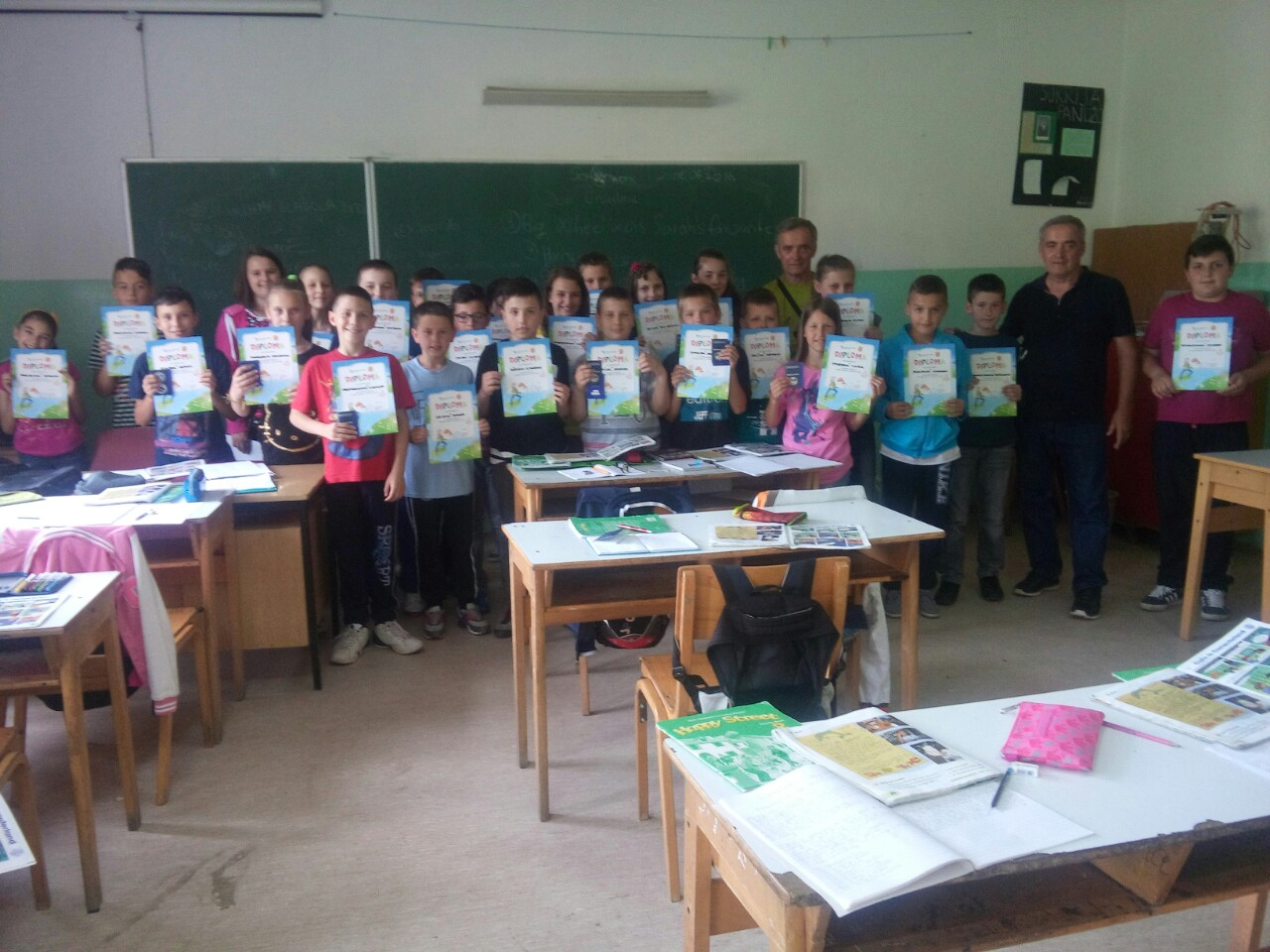 Podijeljene diplome i ribolovne dozvole učenicima OŠ Dobroševići